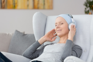 Headphones During Cancer Treatment
