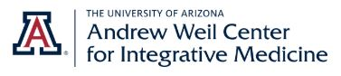 The University of Arizona<br/><small>Andrew Weil Center for Integrative Medicine</small>