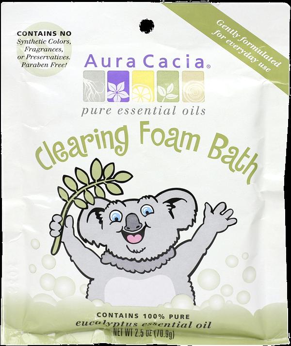Aura Cacia Clearing Aromatherapy Foam Bath for Kids