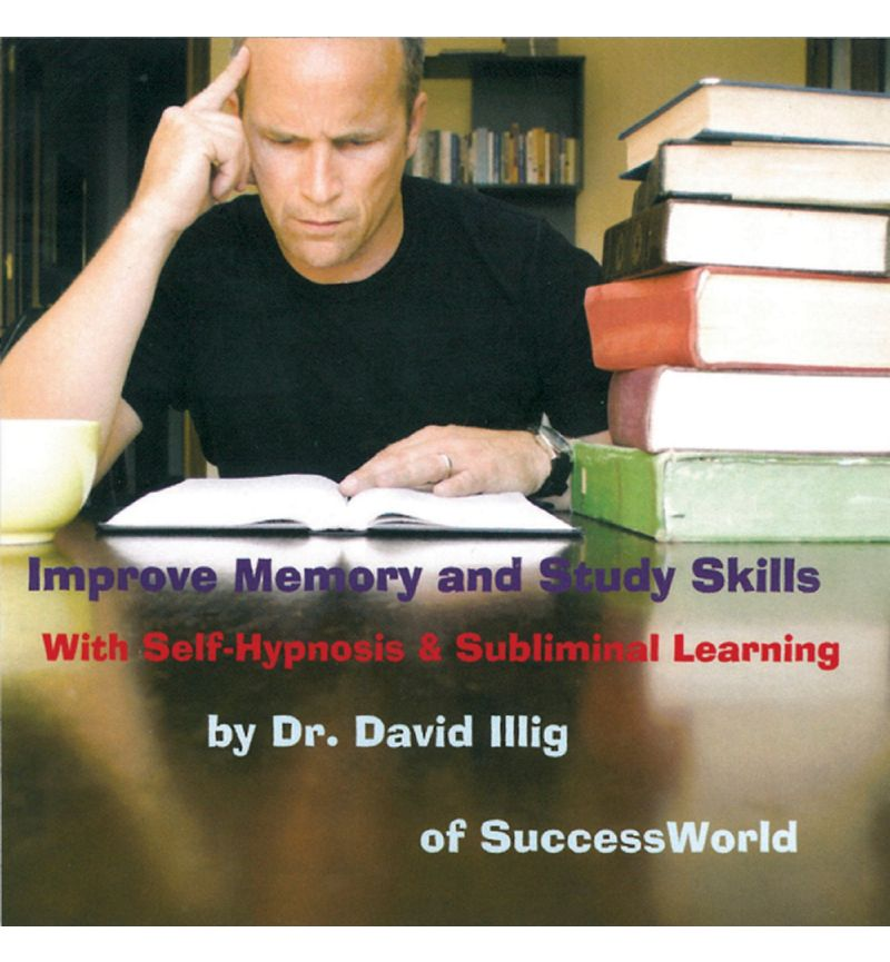 Improve Memory & Study Skills: Self-Hypnosis & Subliminal Learning MP3