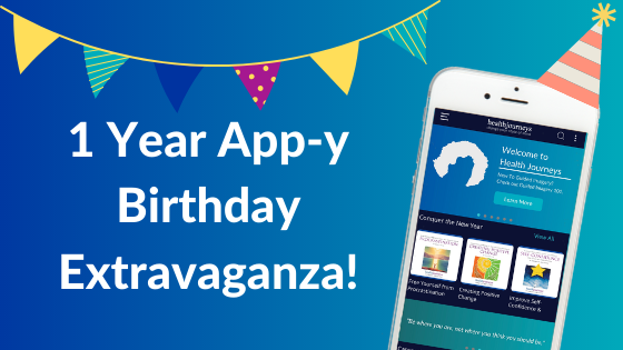 A Razzle Dazzle, Socially Distant, 1 Year App-y Birthday Extravaganza!