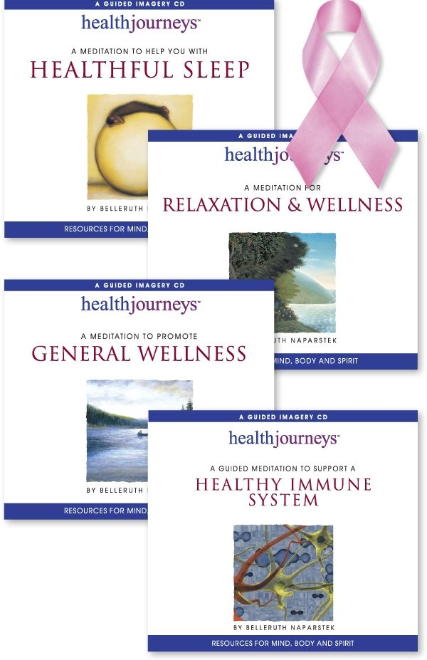 Guided Imagery Resources for Breast Cancer Awareness Month