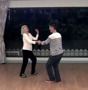 Dancin' Jean Veloz, 90 Years Old And Going Strong!